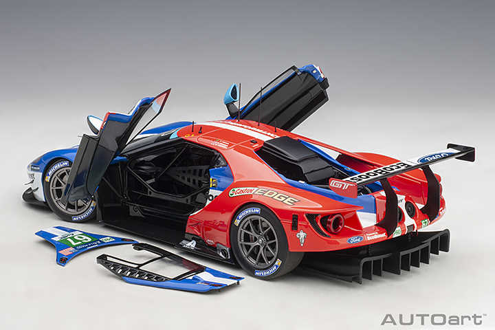 Ford GT Le-Mans 2017 Autoart 81710