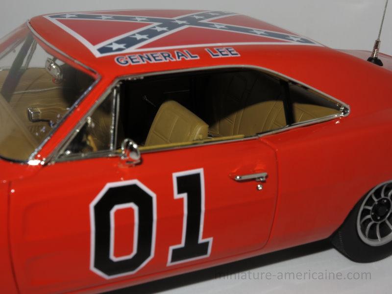 dodge charger 1969 general lee 1/18