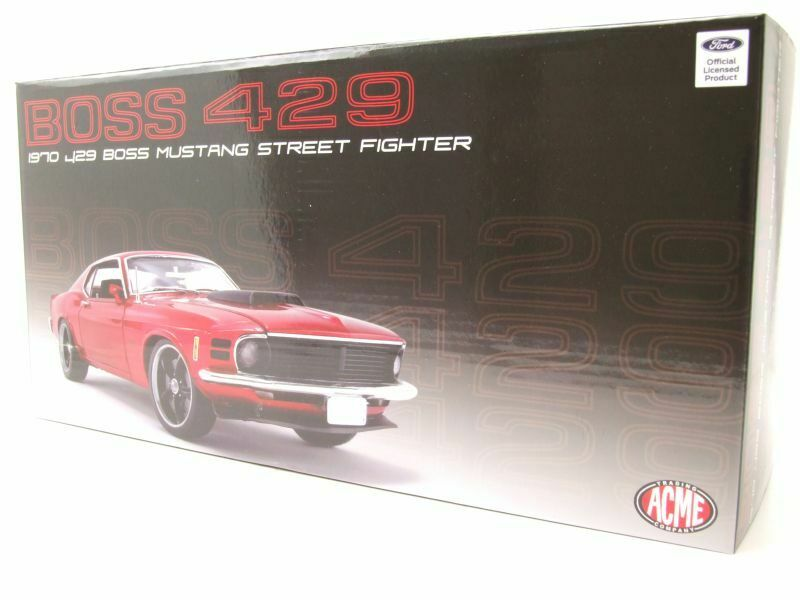Mustang miniature Boss429 1/18