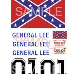 décalcomanie General Lee