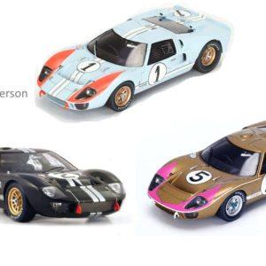 Trio gagant GT40 Spark 1/18