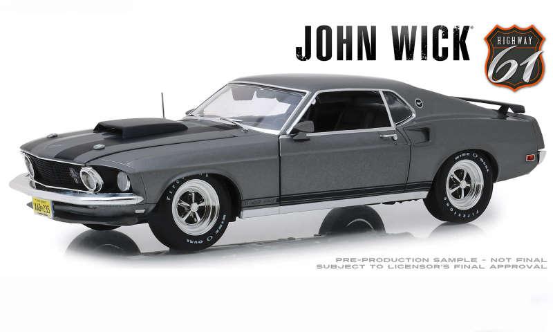 Mustang Boss429 John Wick 1/18