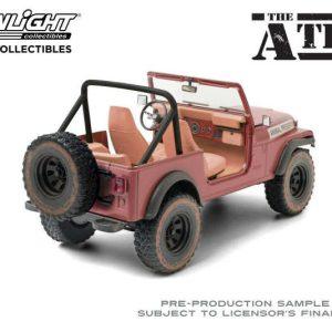 Jeep CJ-5 A-Team 1/18