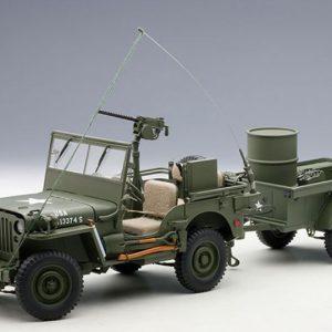 Jeep Willys Autoart 1/18