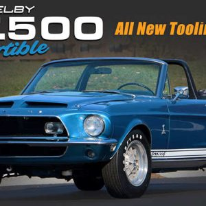 Shelby GT500 1/18