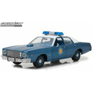 Plymouth Fury 1975 Police Smockey 1/18